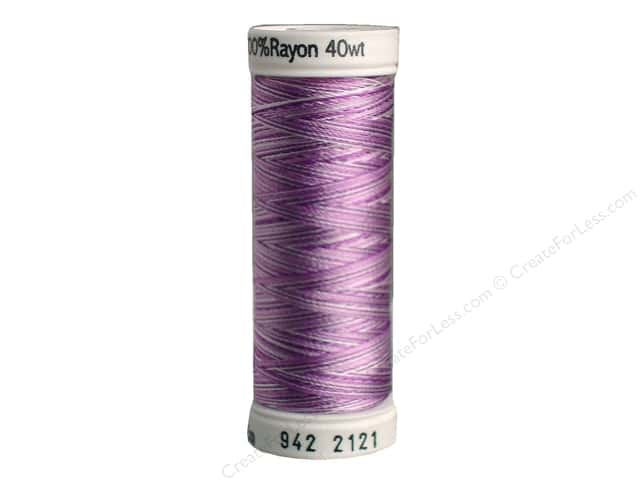 Sulky Rayon Thread 40 wt. 250 yd. #2121 Orchids