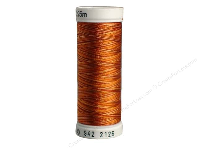 Sulky Rayon Thread 40 wt. 250 yd. #2126 Rust Peaches