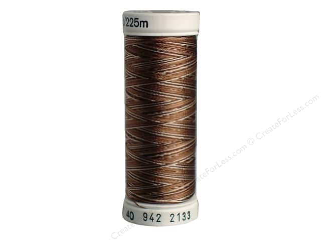Sulky Rayon Thread 40 wt. 250 yd. #2133 Coffee Browns