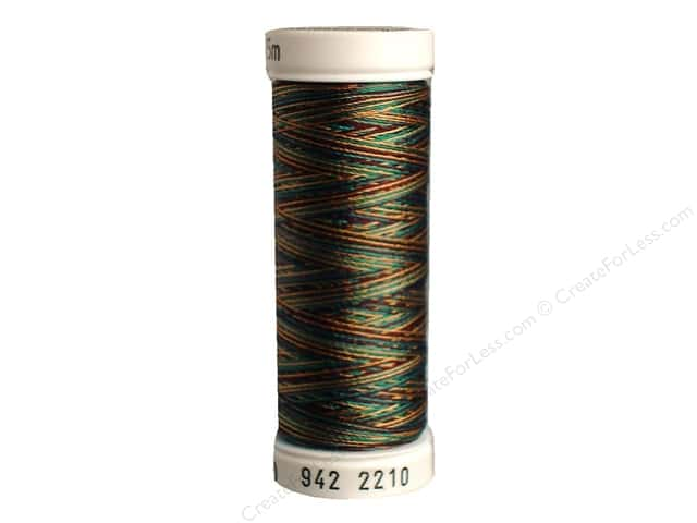 Sulky Rayon Thread 40 wt. 250 yd. #2210 Dark Gray/Brown Burgundy/Light Brown