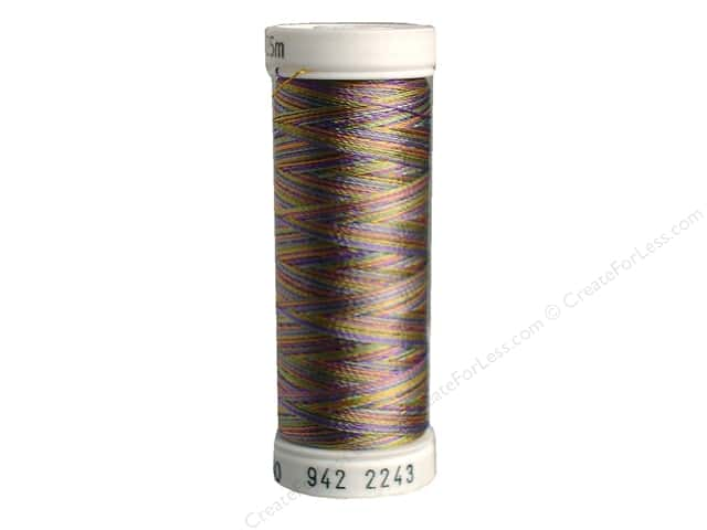 Sulky Rayon Thread 40 wt. 250 yd. #2243 Medium Green/Purple/Gold