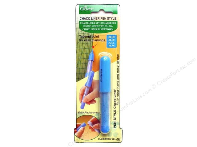 Clover Pen Style Chaco Liners Blue