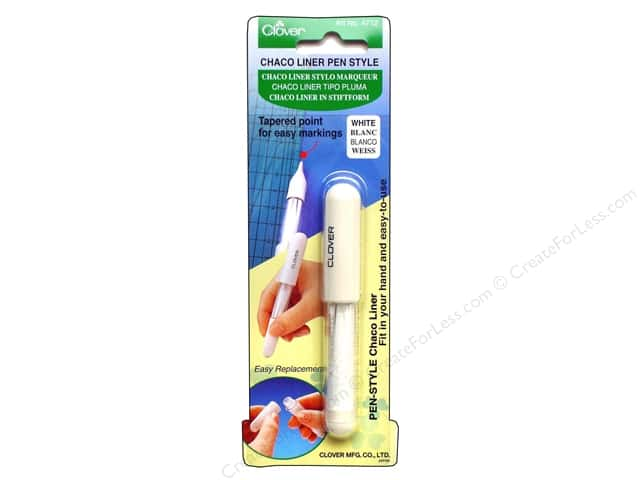Clover Pen Style Chaco Liners White