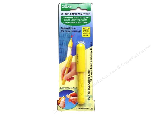 Clover Pen Style Chaco Liners Yellow