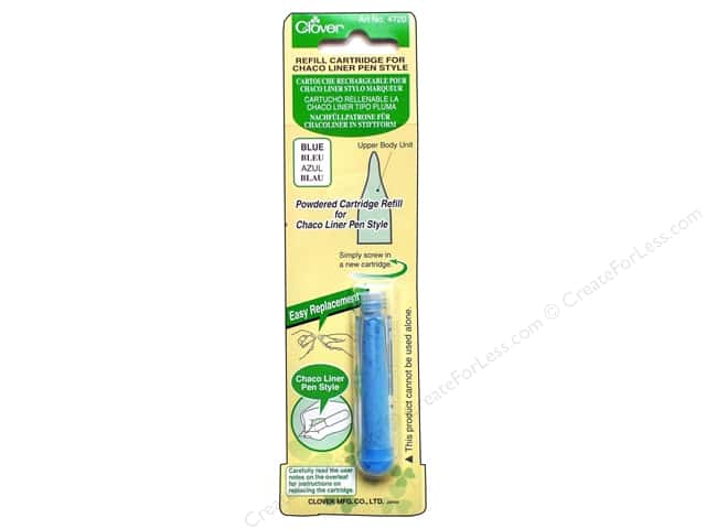 Clover Pen Style Chaco Liner Refill Blue