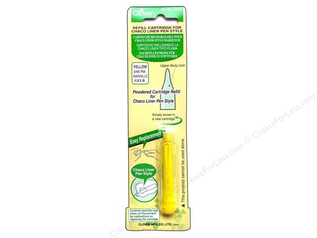 Clover Pen Style Chaco Liner Refill Yellow