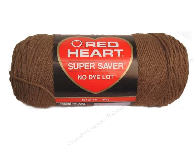 Red Heart Super Saver Yarn 364 yd. #0360 Cafe Latte