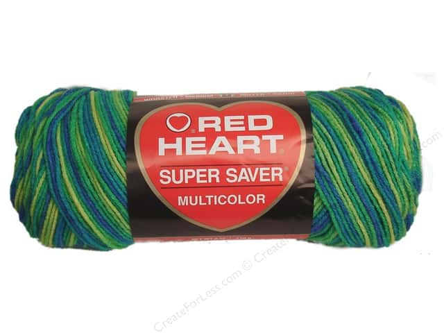 Red Heart Super Saver Yarn #0994 Banana Berry 244 yd.
