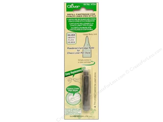 Clover Pen Style Chaco Liner Refill Silver