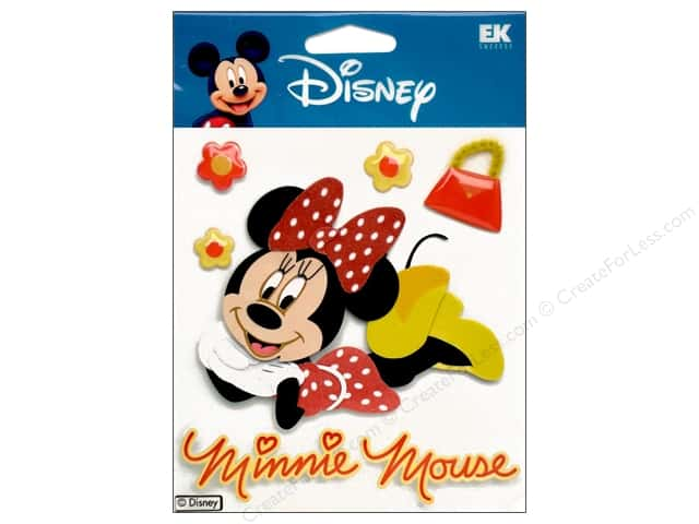 EK Disney Dimensional Stickers Minnie