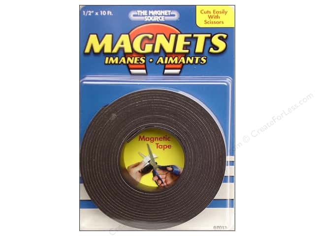 The Magnet Source Flexible Magnetic Tape 1/2 in. x 10 ft.