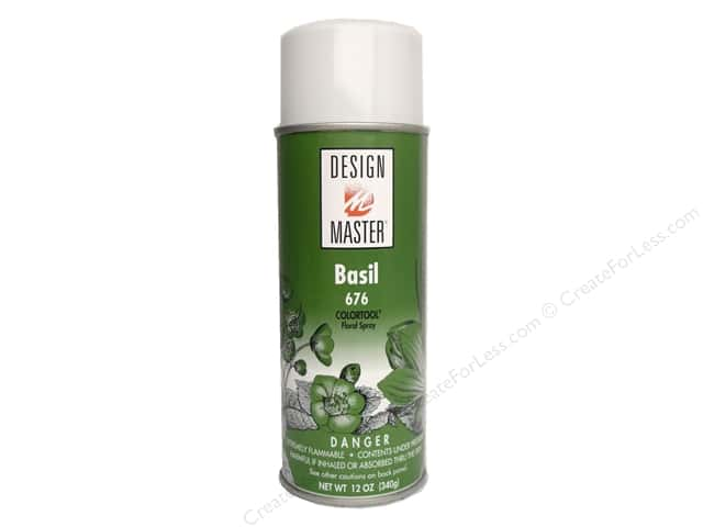 Design Master Colortool Spray Paint 12 oz. #676 Basil