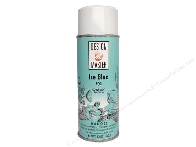 Design Master Colortool Spray Paint 12 oz. #704 Ice Blue