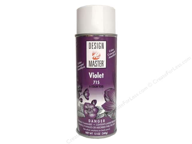 Design Master Colortool Spray Paint #715 Violet 12 oz.