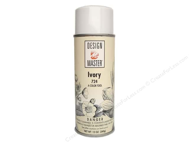 Design Master Colortool Spray Paint 12 oz. #724 Ivory