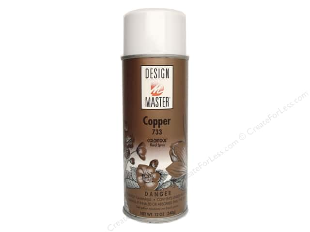 Design Master Colortool Spray Paint #733 Copper 11 oz.