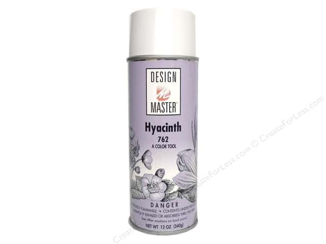 Design Master Colortool Spray Paint #762 Hyacinth 12 oz.
