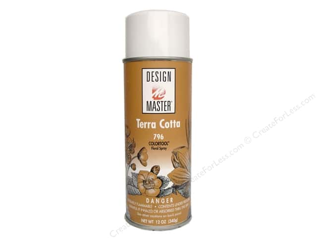 Design Master Colortool Spray Paint #796 Terra Cotta 12 oz.