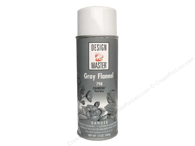 Design Master Colortool Spray Paint #798 Grey Flannel 12 oz.
