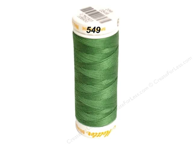 Mettler Cotton Machine Embroidery Thread 30 wt. 220 yd. #549 Vibrant Green