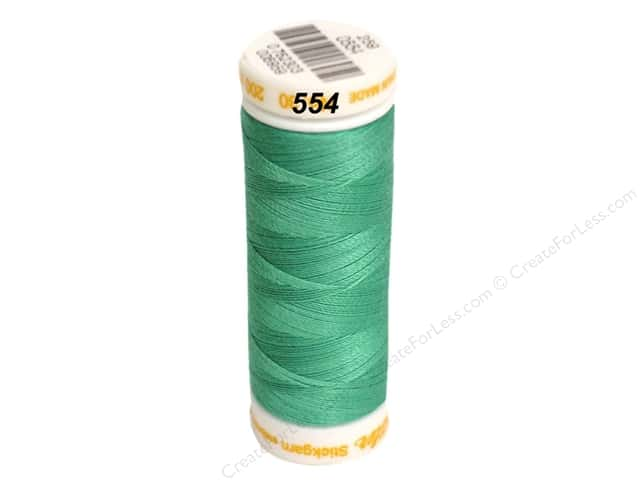 Mettler Cotton Machine Embroidery Thread 30 wt. 220 yd. #554 Deep Aqua