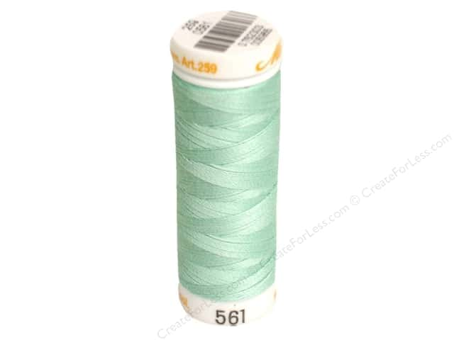 Mettler Cotton Machine Embroidery Thread 30 wt. 220 yd. #561 Snowmoon