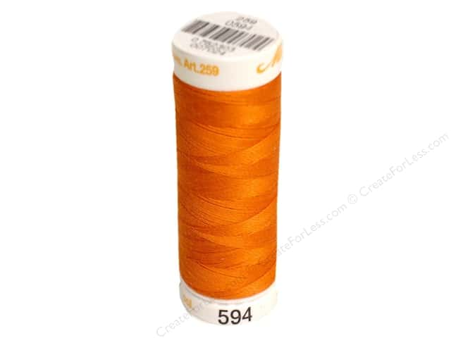 Mettler Cotton Machine Embroidery Thread 30 wt. 220 yd. #594 Paprika