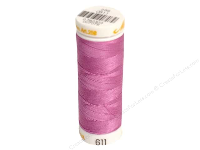 Mettler Cotton Machine Embroidery Thread 30 wt. 220 yd. #611 Cachet