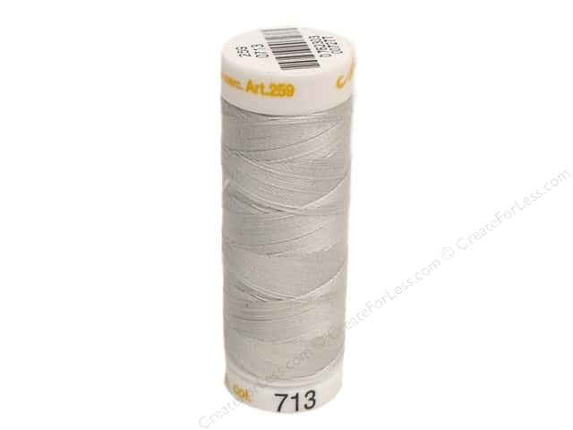 Mettler Cotton Machine Embroidery Thread 30 wt. 220 yd. #713 Drizzle