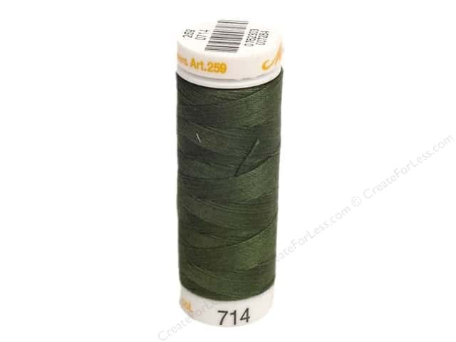 Mettler Cotton Machine Embroidery Thread 30 wt. 220 yd. #714 Deep Green