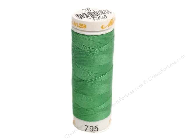Mettler Cotton Machine Embroidery Thread 30 wt. 220 yd. #795 Field Green
