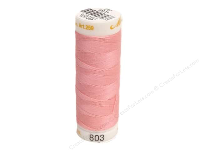 Mettler Cotton Machine Embroidery Thread 30 wt. 220 yd. #803 Rose Quartz
