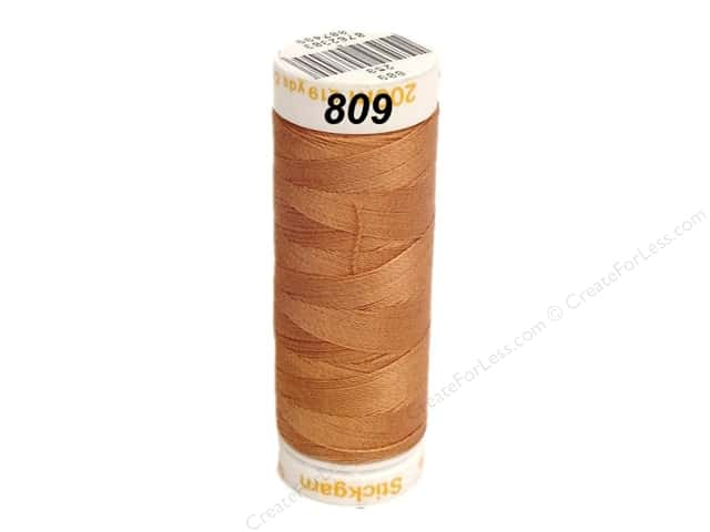 Mettler Cotton Machine Embroidery Thread 30 wt. 220 yd. #809 Copper