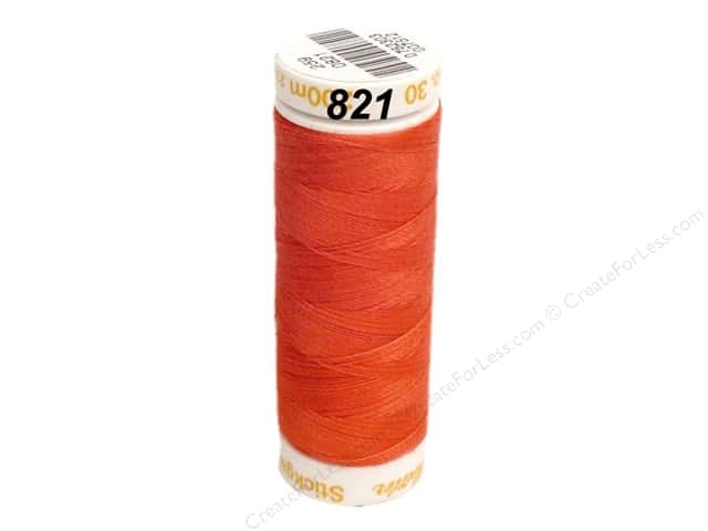 Mettler Cotton Machine Embroidery Thread 30 wt. 220 yd. #821 Wildfire
