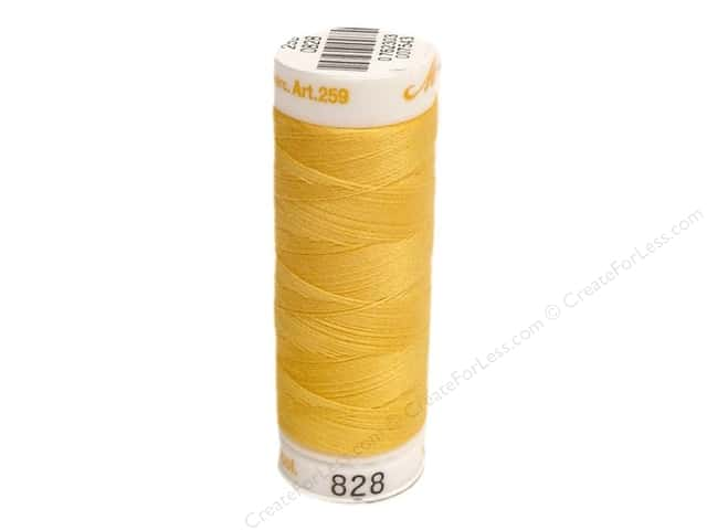 Mettler Cotton Machine Embroidery Thread 30 wt. 220 yd. #828 Citrus