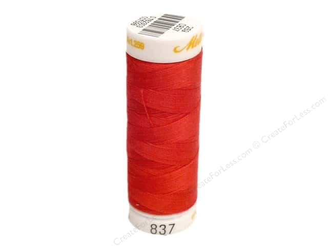 Mettler Cotton Machine Embroidery Thread 30 wt. 220 yd. #837 Poinsettia