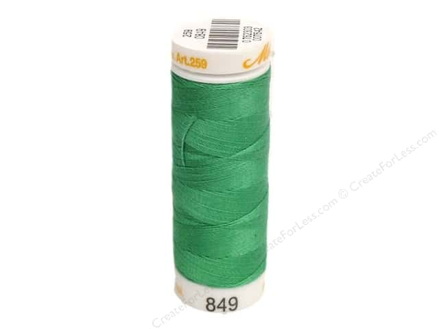 Mettler Cotton Machine Embroidery Thread 30 wt. 220 yd. #849 Tidepool