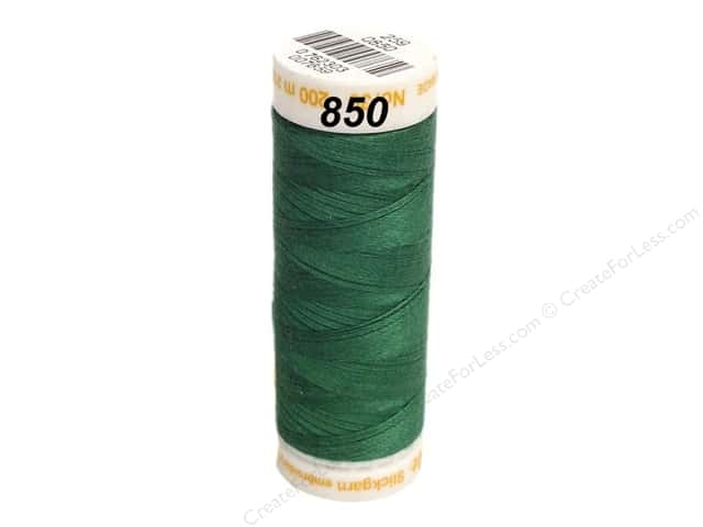 Mettler Cotton Machine Embroidery Thread 30 wt. 220 yd. #850 Swamp