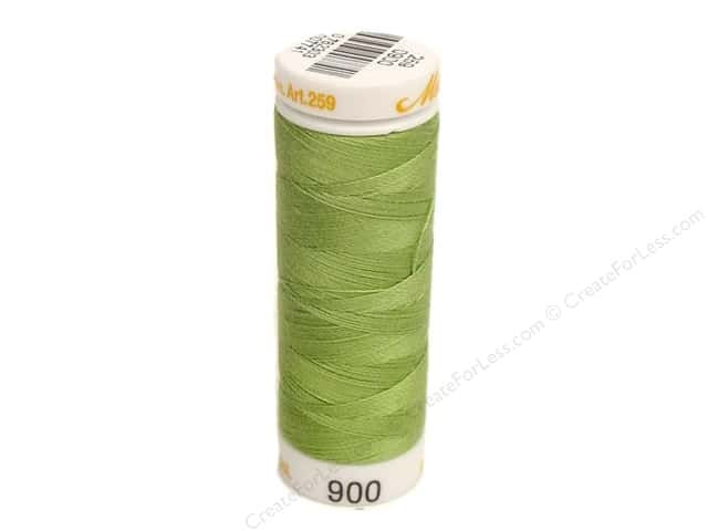 Mettler Cotton Machine Embroidery Thread 30 wt. 220 yd. #900 Bright Mint