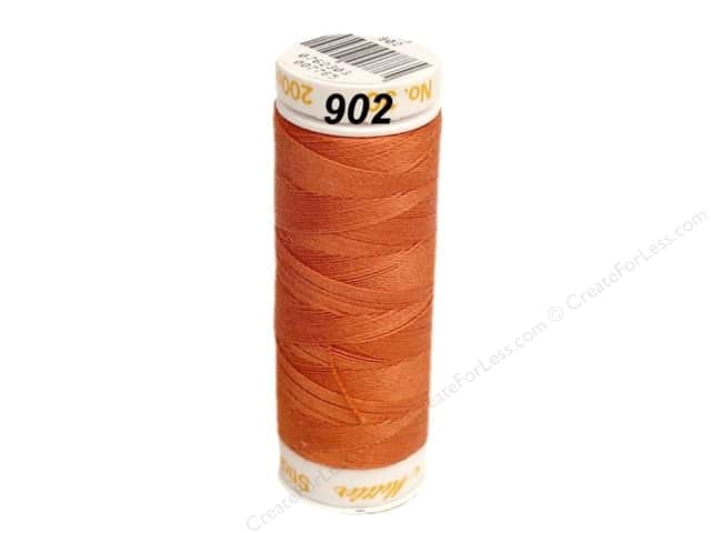 Mettler Cotton Machine Embroidery Thread 30 wt. 220 yd. #902 Clay