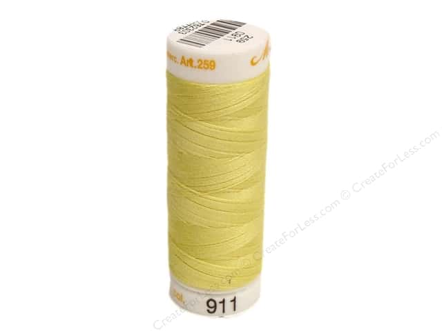 Mettler Cotton Machine Embroidery Thread 30 wt. 220 yd. #911 Limelight