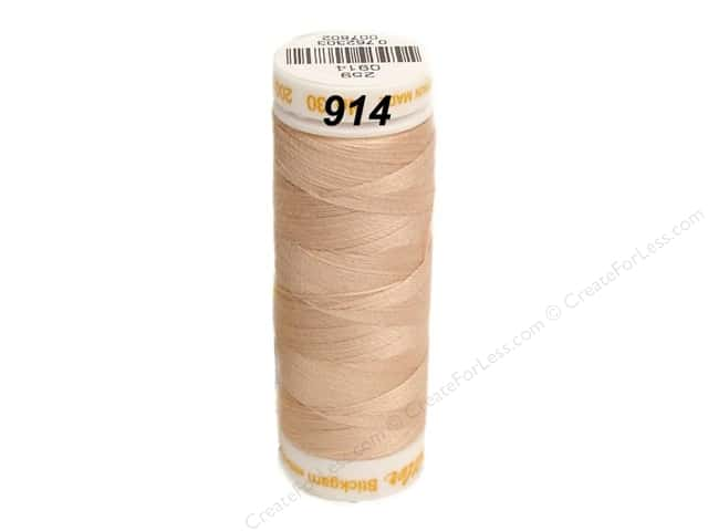 Mettler Cotton Machine Embroidery Thread 30 wt. 220 yd. #914 Spanish Villa