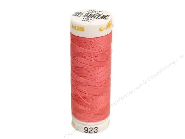 Mettler Cotton Machine Embroidery Thread 30 wt. 220 yd. #923 Dusty Mauve