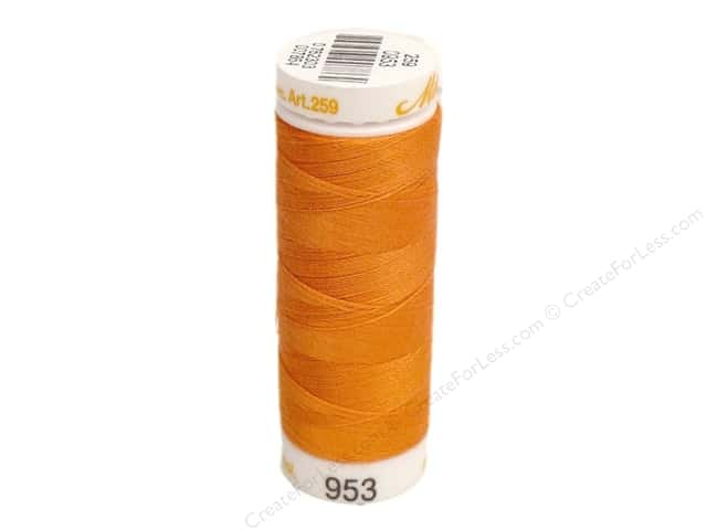 Mettler Cotton Machine Embroidery Thread 30 wt. 220 yd. #953 Harvest