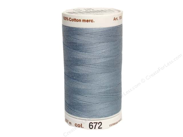Mettler Silk Finish Cotton Thread 40 wt. 500 yd. #0350 Summer Sky