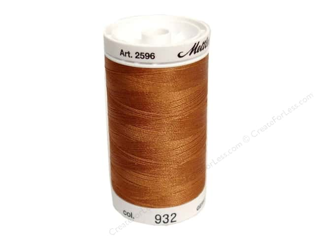 Mettler PolySheen Embroidery Thread 875 yd. #932 Nutmeg