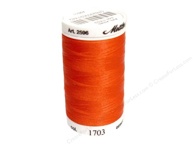 Mettler PolySheen Embroidery Thread 875 yd. #1703 Poppy