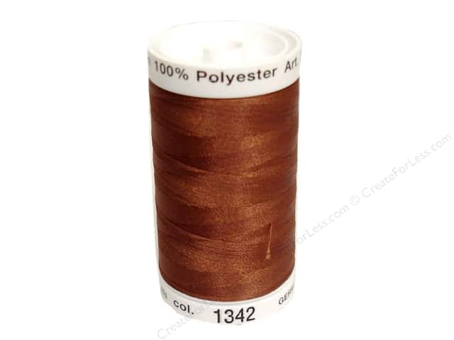 Mettler PolySheen Embroidery Thread 875 yd. #1342 Rust