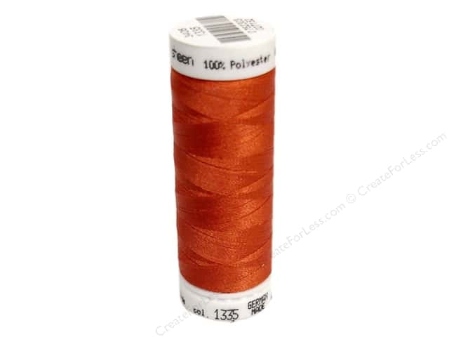 Mettler PolySheen Embroidery Thread 220 yd. #1335 Dark Rust