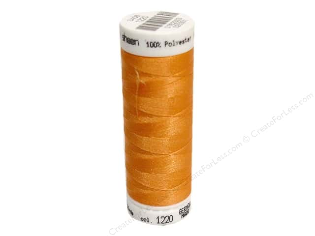 Mettler PolySheen Embroidery Thread 220 yd. #1220 Apricot
